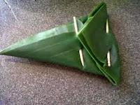 Resep lontong segitiga dipadu kari ayam