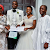 VP Osinbajo And Wife Pictured At The Wedding Of Adetuke Morgan & Akintola Oluwadamilola