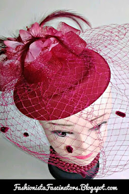 Maroon fascinator hats for sale in Kenya