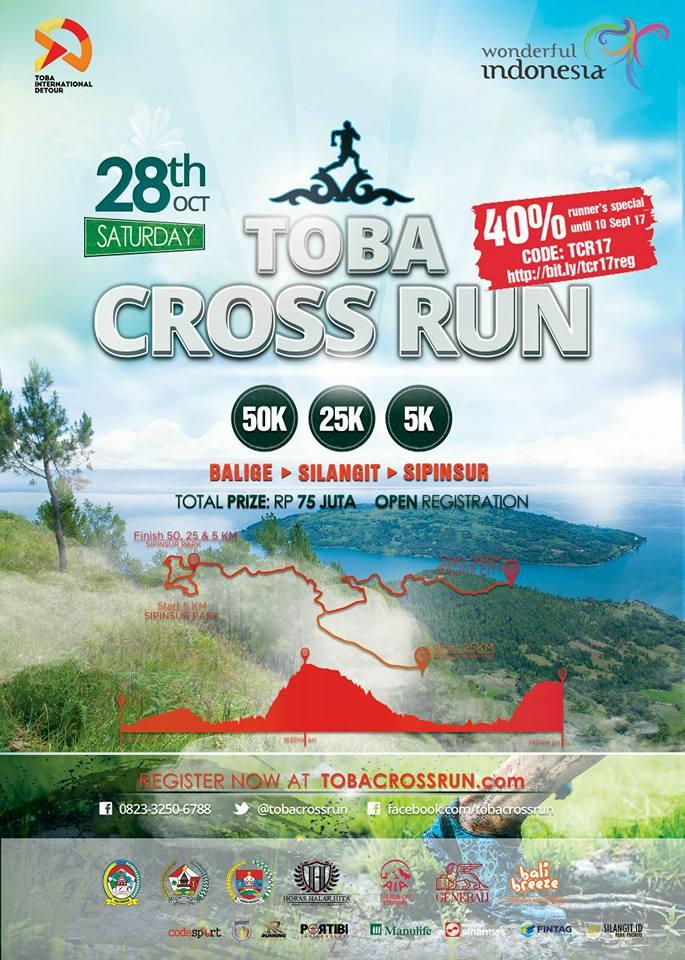 Toba Cross Run • 2017