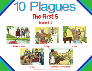 Bible Fun For Kids: Moses: 10 Plagues Part 2 of 3