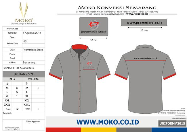 Baju Seragam Premmiere Store, Semarang - Jawa Tengah