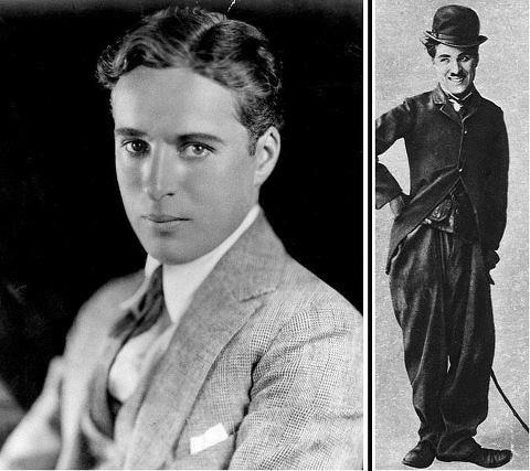Real Face of Charlie Chaplin