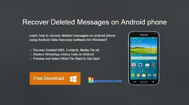 how to recover deleted messages from android phone
