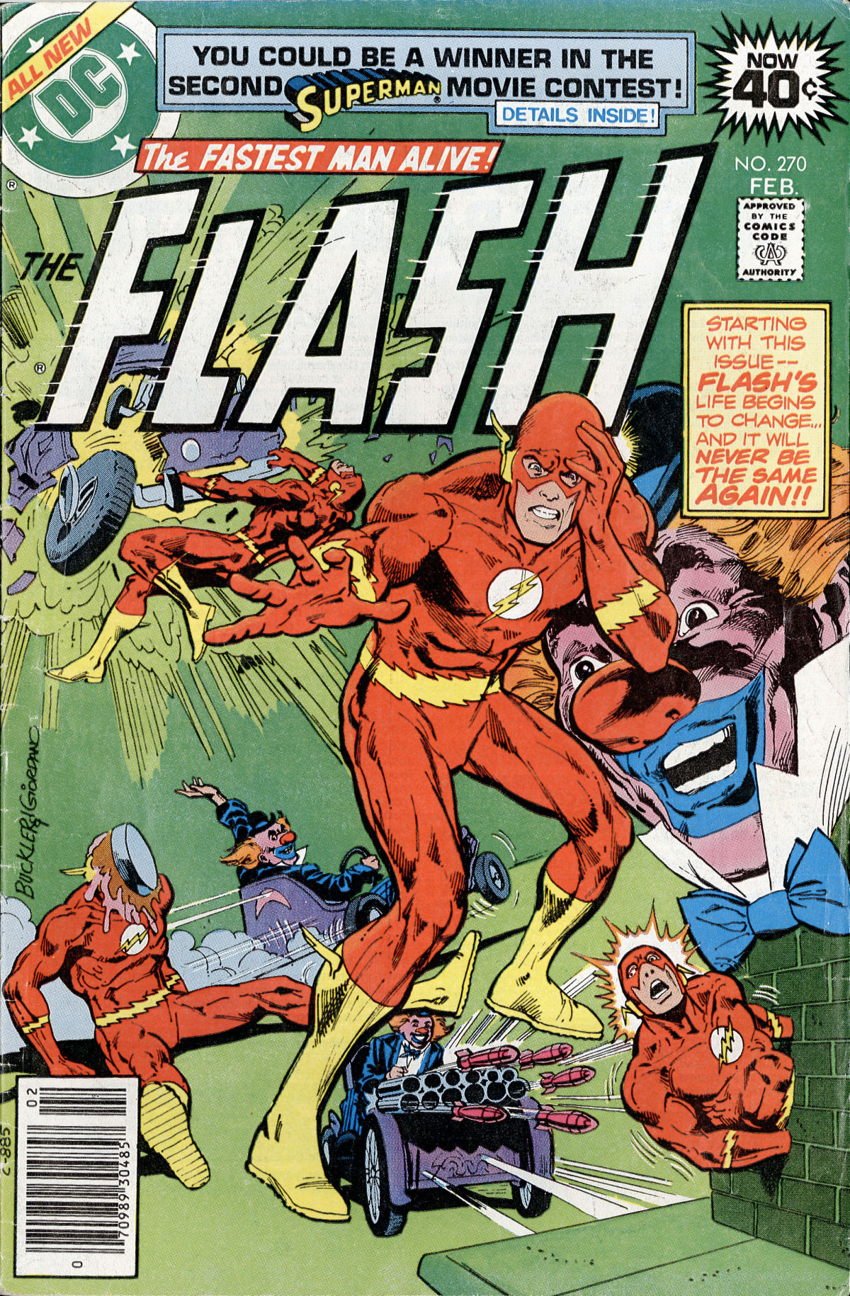 The Flash (1959) 270 Page 1