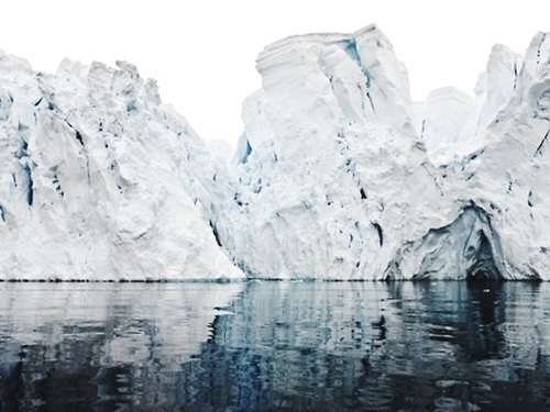 Polar Ice_Melting away by Camille Seaman_Happy Weekend Images of Inspiration {Cool Chic Style Fashion}