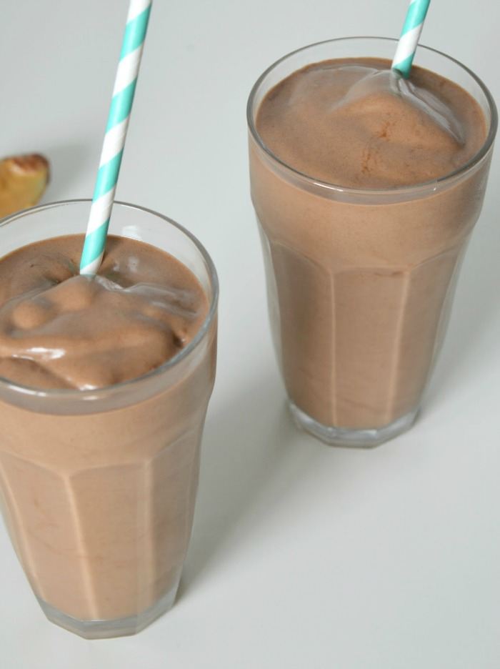 vegan chocolate milkshake recipe