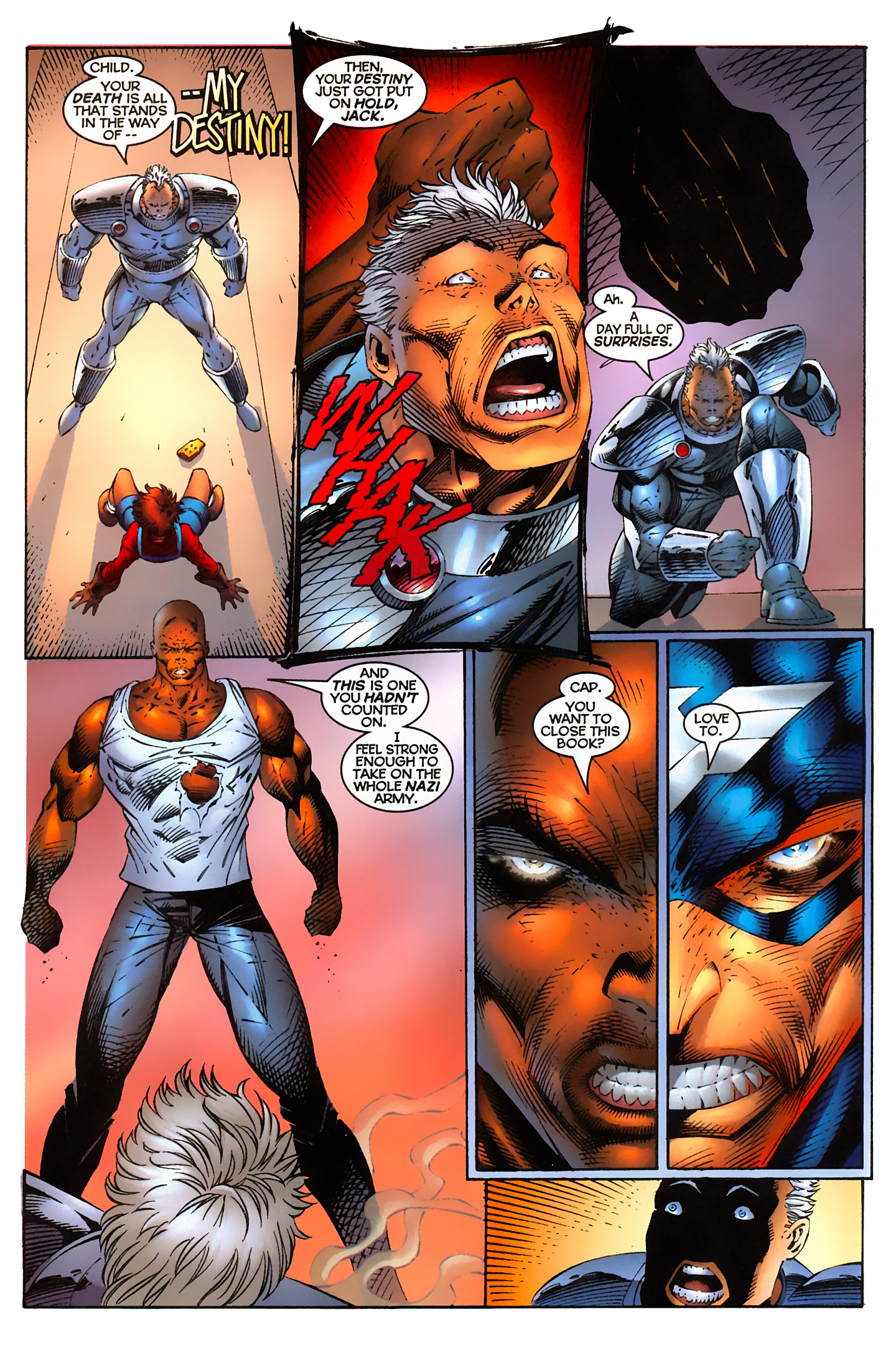 Captain America (1996) Issue #5 #5 - English 20