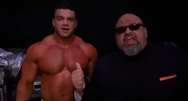 Oficiais da WWE irritados com Taz por promo no Fyter Fest
