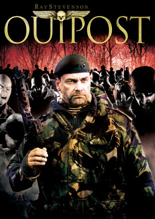 Poster Of Outpost In Dual Audio Hindi English 300MB Compressed Small Size Pc Movie Free Download Only At worldfree4u.com