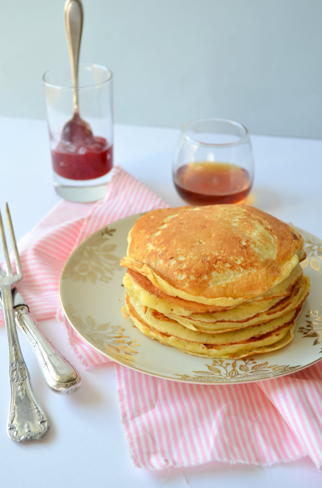 Pancakes fluffy au lait ribot de Marc Grossman