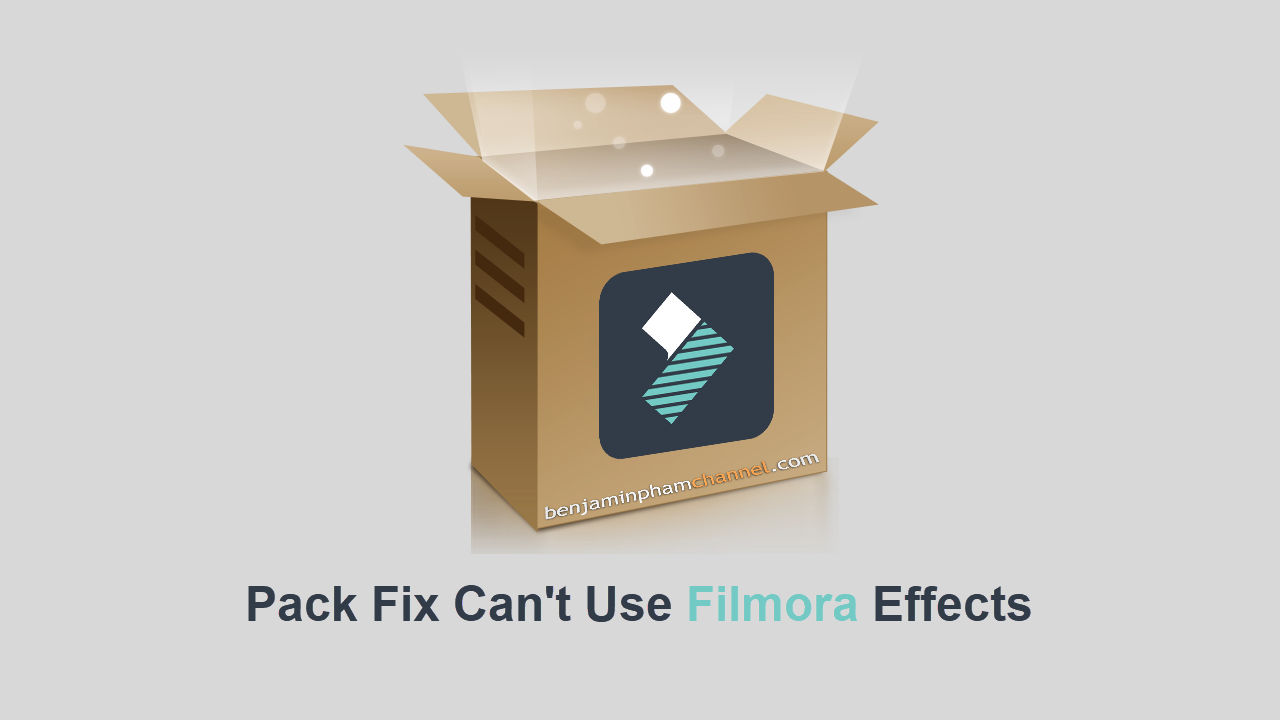 Filmora Fix Pack [ fix the error can't use Filmora Effects ]