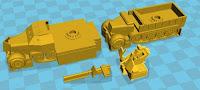 Sd Kfz 7/2 3.7cm AA halftrack (12mm)