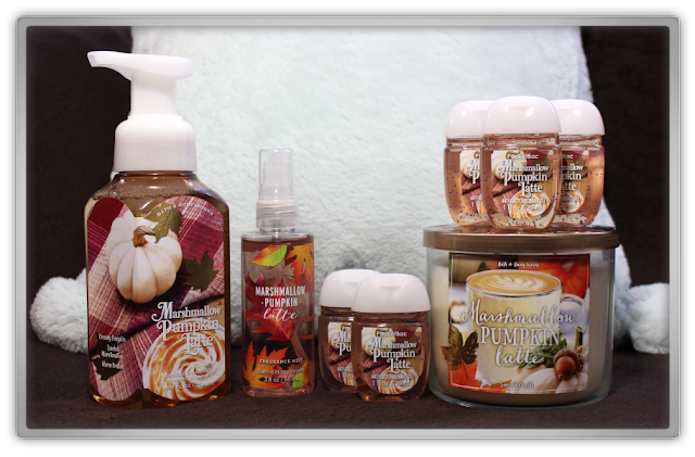 Bath & Body Works Marshmallow Pumpkin Latte items Haul and Review products beauty blog blogger fall favorite cozy favorites