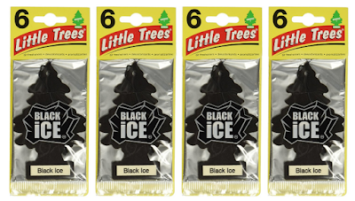 Little-Trees Black Ice Little Tree Air Freshener