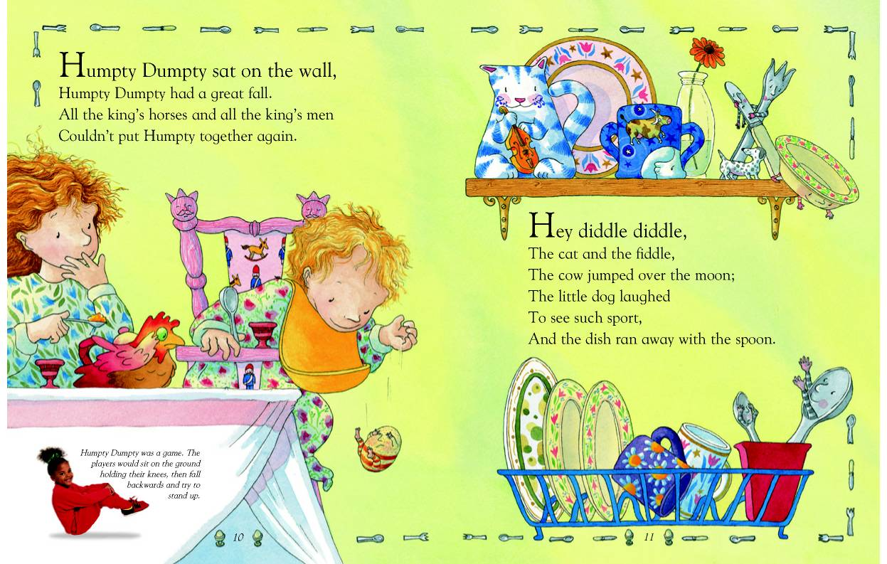 I Love The Mixture Of Word Families With Rhyming Words Nursery Rhymes Are Full To Use Often They Have Unfamiliar Vocabulary In Them
