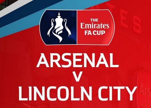 Arsenal vs Lincoln City