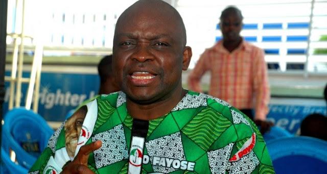 I'm Glad APC Has Accepted Responsibility for Its Failure – Fayose