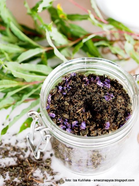 wierzbowka kiprzyca, herbata rosyjska, ivan czaj, ziola, herbatka ziolowa, laka, przetwory