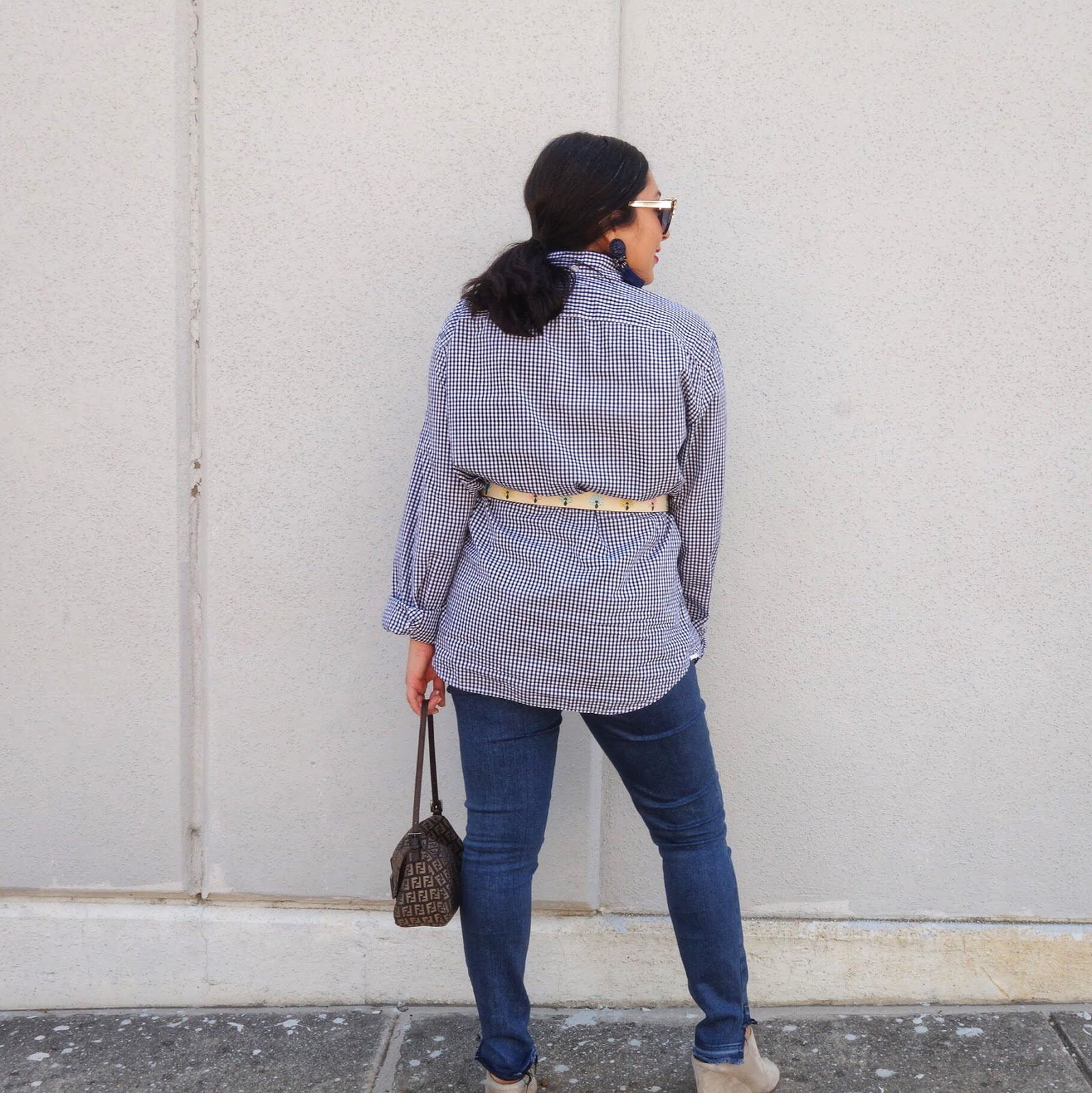 Boyfriend Shirt, How to wear Boyfriend Shirt, Shirt with Belt
