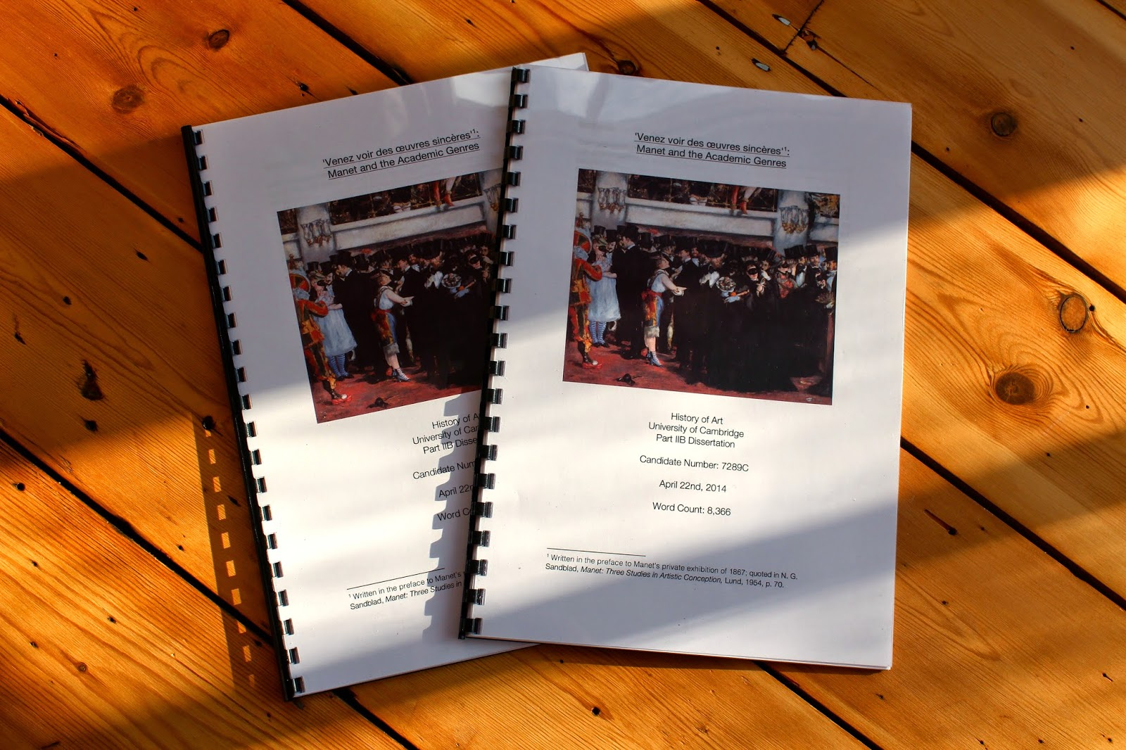 dissertation binded