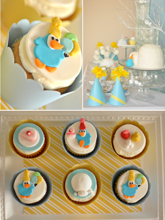 Kids Party Ideas | A Penguin Winter Birthday - BirdsParty.com