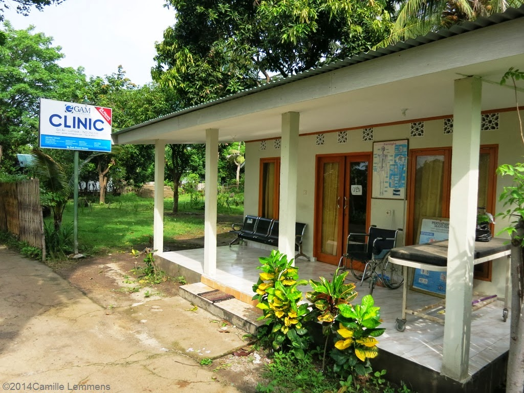 The first and original clinic on Gili Air in Indonesia