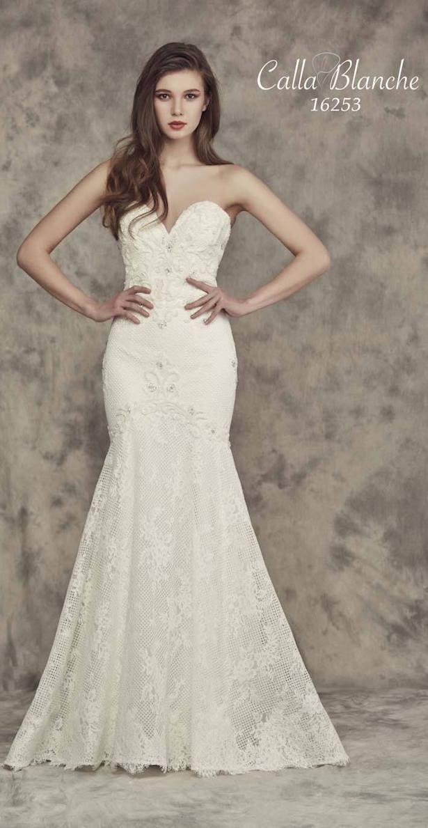 vestidos de novia corazon