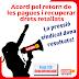 Acord pel retorn de les pagues i la recuperació dels drets retallats (Vaga 12D desconvocada)