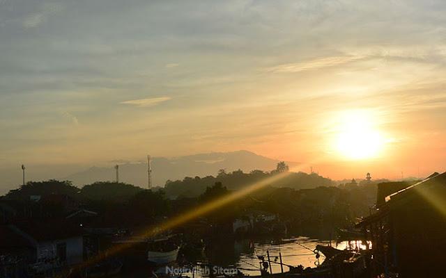 Sunrise di Dermaga Cinta Jepara
