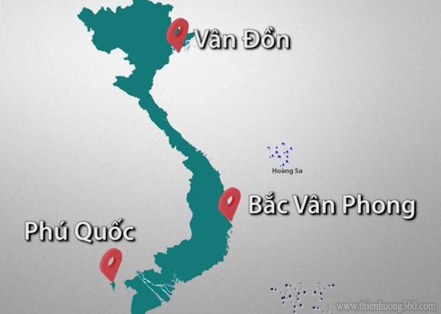 3 Đặc khu kinh tế: Vân đồn - Bắc Vân Phong - Phú Quốc Có thể giải quyết được tất cả các bài toán của nước ta và cả Thế Giới