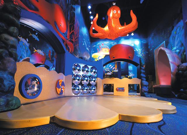 Children's Museum em Miami - Área aquática