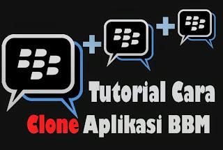 Tutorial Kloning/Clone Aplikasi BBM Mod apk Terbaru musik transparan