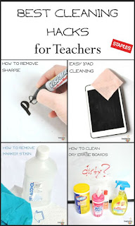 http://imaginationsoup.net/2015/01/14/best-classroom-cleaning-hacks/