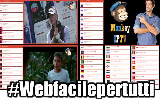 MonkeyIPTV - Applicazione Con Canali TV Digitali e Satellitare Da Tutto Il Mondo