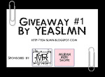 Giveaway #1 by YEASLMN
