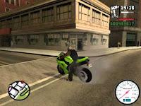 Kode Cheat GTA Motor Balap Ninja