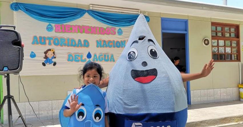 Autoridad Nacional del Agua sensibiliza 1500 escolares y docentes en ICA