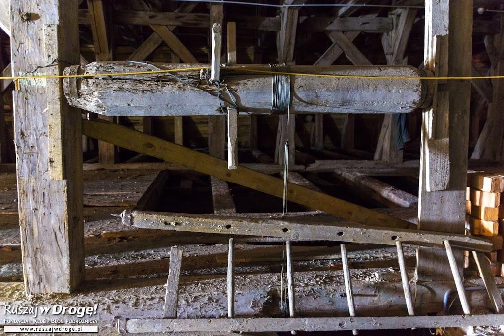 Narzędzia budowlane - dawny kierat