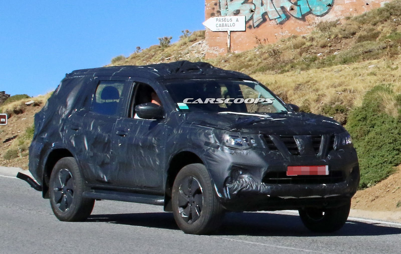 New Nissan Navara Based Suv Spied Could This Be The Next Non Us