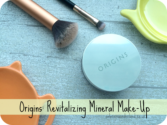 origins revitalizing mineral make up for oily skin