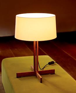 Instalaciones eléctricas residenciales - lámpara de mesa