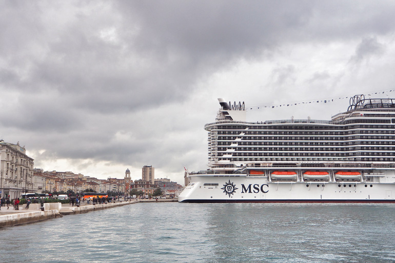 Croisière inaugurale sur le MSC Seaside