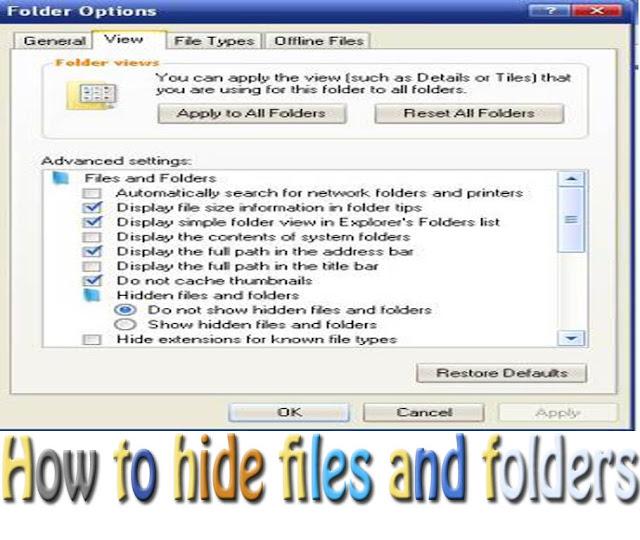 hide files-file hider