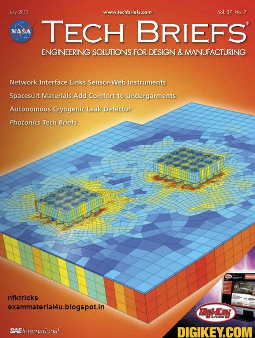 Read NASA Tech Brief Magazine month 2013 Free online ...