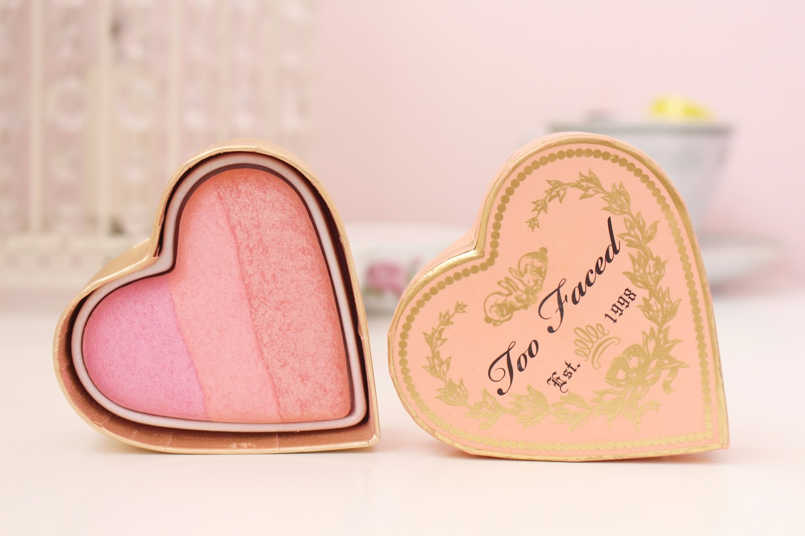 Too Faced Sweetheart Blush in Candy Glow