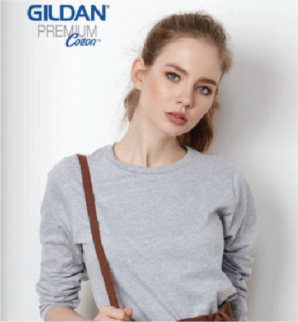 gildan ladies long