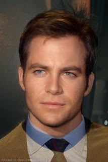 Chris Pine Captain Kirk William Shatner