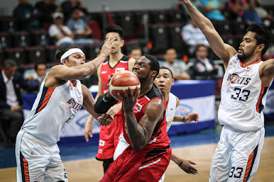 Meralco Bolts on Defense