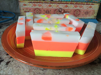 candy corn soap recipe diy